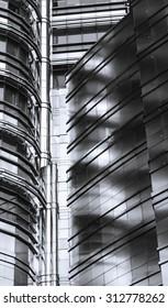 Detail of Petronas towers, Malaysia
