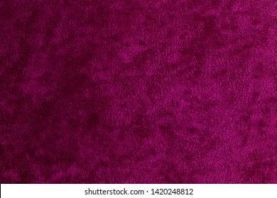 Detail of a purple velvet background