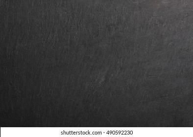 detail of real black slate