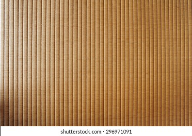 Detail from rice straw, Tatami Mats are the typical floor covering for traditional Japanese houses and temples