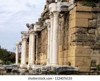 detail from Roman archaelogical site in Alanya