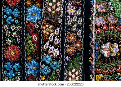 Detail of a romanian traditional design