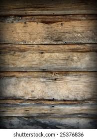 Detail of rustic wood showing detail