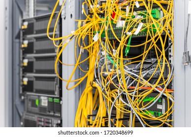 Detail des Servers im Rechenzentrum