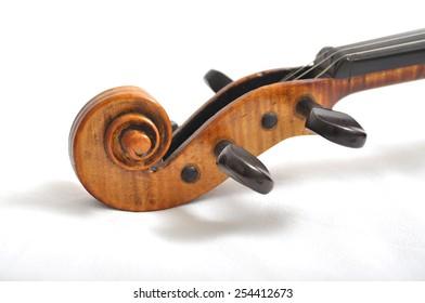 Detail shot violin