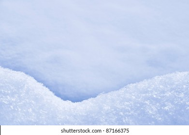 Detail of snowdrift ? snow texture