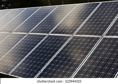 Detail of the Solar Power Station