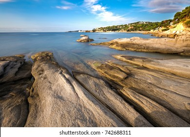 Detail of the Spanish coast (Costa Brava, Sant Antoni de Calonge)