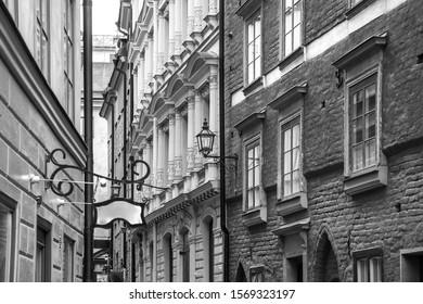A detail of Stockholm street, Sweden