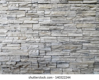 detail of stone wall