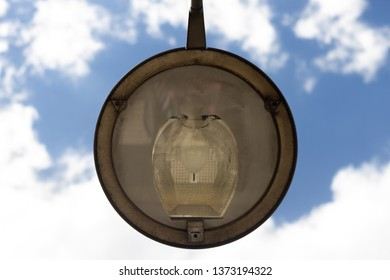 Detail of a street lamp