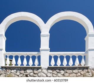 Detail of terrace