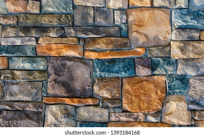 detail texture of stone wall