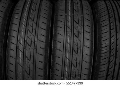 Detail and Textured of Tires, Background
