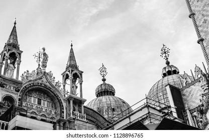 Detail textures of San Marco square - Venezia San Marco