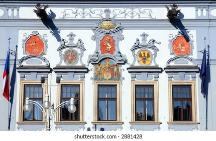 detail of town hall