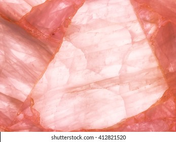 Detail of a translucent slice of natural stone agate. Natural patterns and textures of minerals for background. Natural stone agate surfaces, backgrounds and wallpapers. Seamless abstract background
