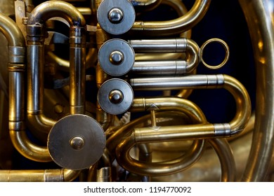 detail of trumpet as very nice musical background