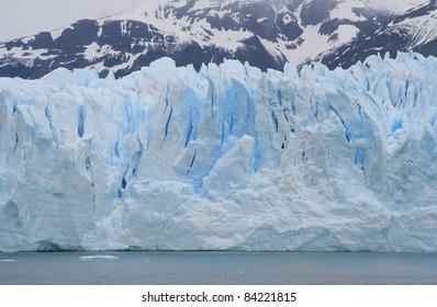 Detail of the upsala glacier