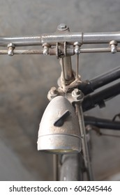 Detail of a Vintage Bicycle .art of old vintage bike used as illustrations for text and use as background.