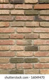 detail of a wall made of bricks