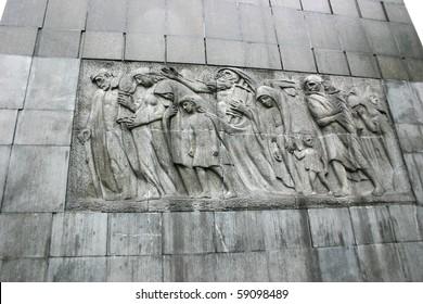 Detail:  Warsaw Ghetto Memorial