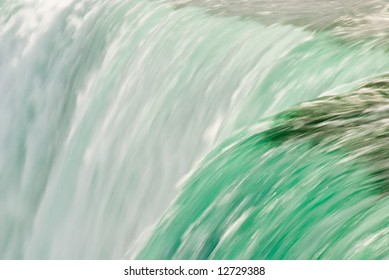 detail waterfall abstract
