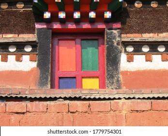 Detail of Window, Labrang Monastery