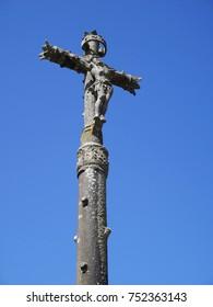 Detail,Church Notre Dame de Port Blanc,Bretagne,France