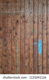 Detailed background texture of old and worn timber panels