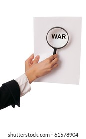 Detailed consideration of the document on possibility of new war