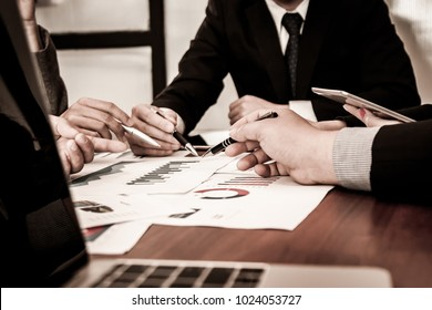 Detailed consultation Between business team.