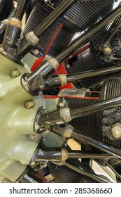 detailed exposition of the old piston aircraft engine