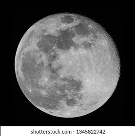 Detailed image of full Moon 3-21-2019