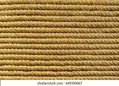 Detailed image of tight rope on background.