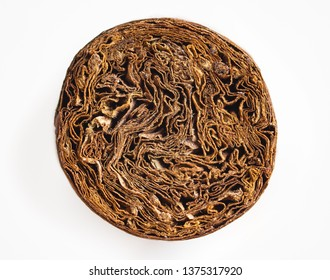 Detailed photo of a cigar front. Luxury Cuban cigar.