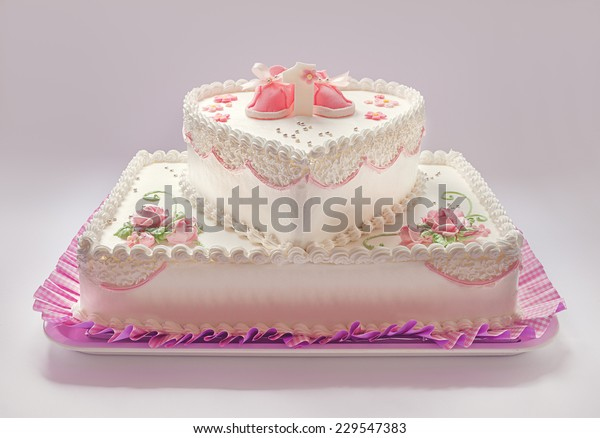 Magnificent Details Birthday Cake Baby Girl Number Stock Photo Edit Now Funny Birthday Cards Online Necthendildamsfinfo