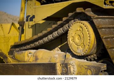 Details of construction dozer