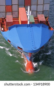 details of a container ship