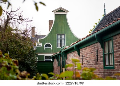 Details of cultural heritage in an old Dutch village in the north of the Netherlands.