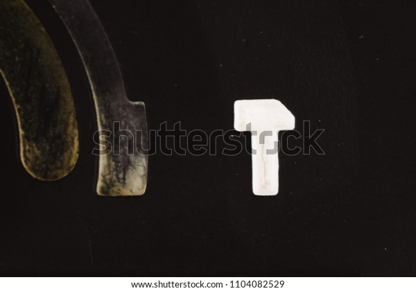 the details of the drill button, closeup, macro