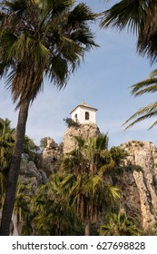 Details of Guadalest village in the province of Alicante, Spain