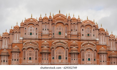 Details of Hawa Mahal (Wind Palace) in Jaipur, India. Hawa Mahal, also known as Palace of Breeze, was built in 1799 as an extension to the Royal City Palace of Jaipur.