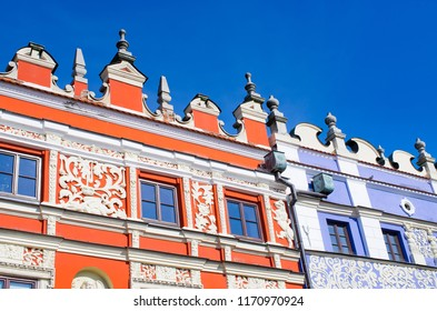 Details of houses in Zamosc - Poland