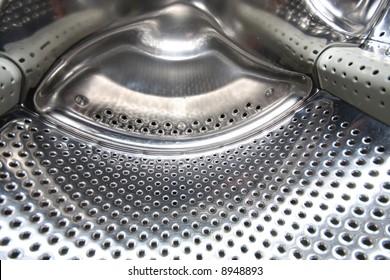 details Interior view of a Washing machine