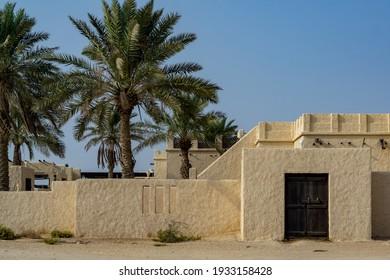 Details of an old fort in Zekreet, Doha, Qatar