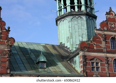 details on Old stock exchange building in Copenhagen, Denmark