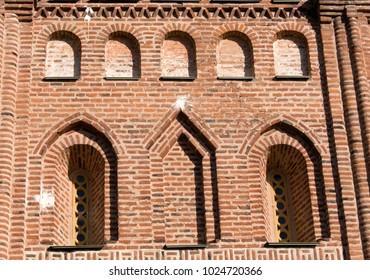 details of Piatnitska church in Chernihiv, Ukraine