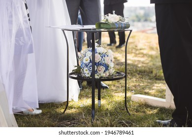 Details pohotography from the wedding day - Shutterstock ID 1946789461