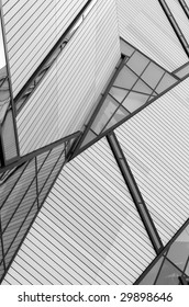 Details of the Royal Ontario Museum Crystal building